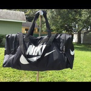Nike travel/golf bag they are some spots on the ba